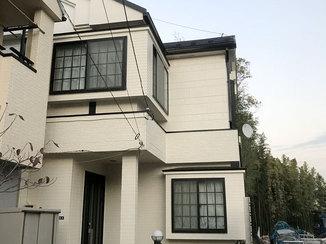 外壁・屋根リフォーム 外壁塗装と屋根のリフォームで、十数年安心の家