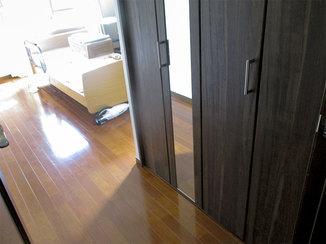 増改築リフォーム クローゼットを新設して使い勝手が良くなったお部屋