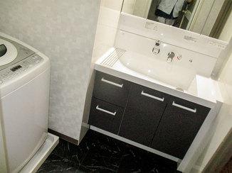 洗面リフォーム 今後手を加えなくても安心して使える清潔感のある洗面所