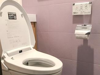 トイレリフォーム エコカラットでスタイリッシュかつ機能的な収納付きトイレ