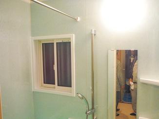 バスルームリフォーム 使い勝手を良くし、寒さ対策もした水まわり